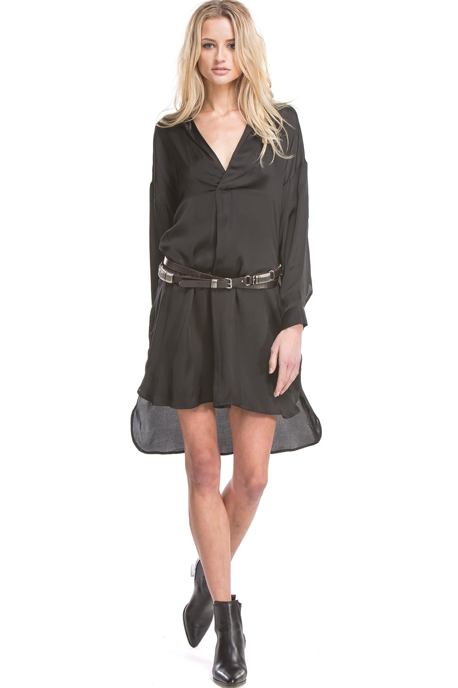 RAMPLING SHIRT DRESS - orangeshine.com