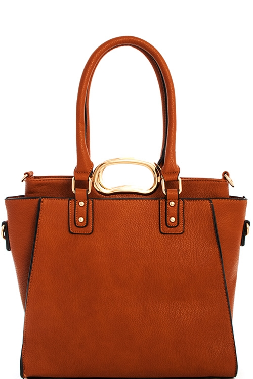 Trendy Satchel with Extra Bag - orangeshine.com