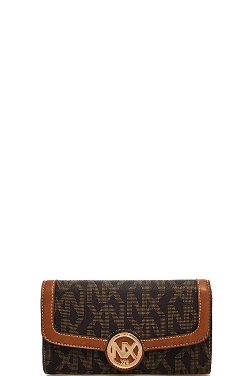 Fashion Logo Printed Wallet - orangeshine.com
