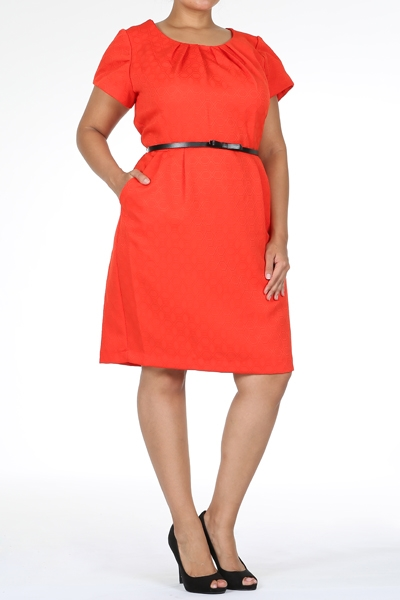 Flare dress - orangeshine.com