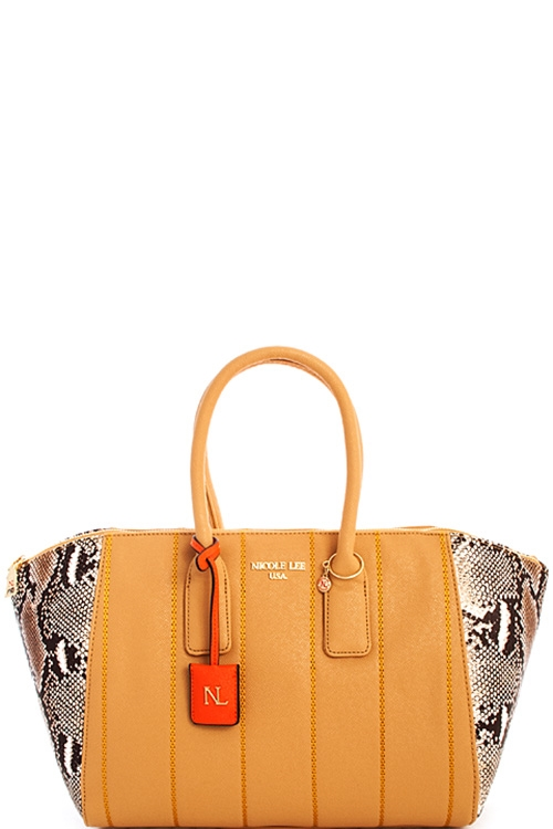 Nicole Lee Emerson Faux Tote - orangeshine.com