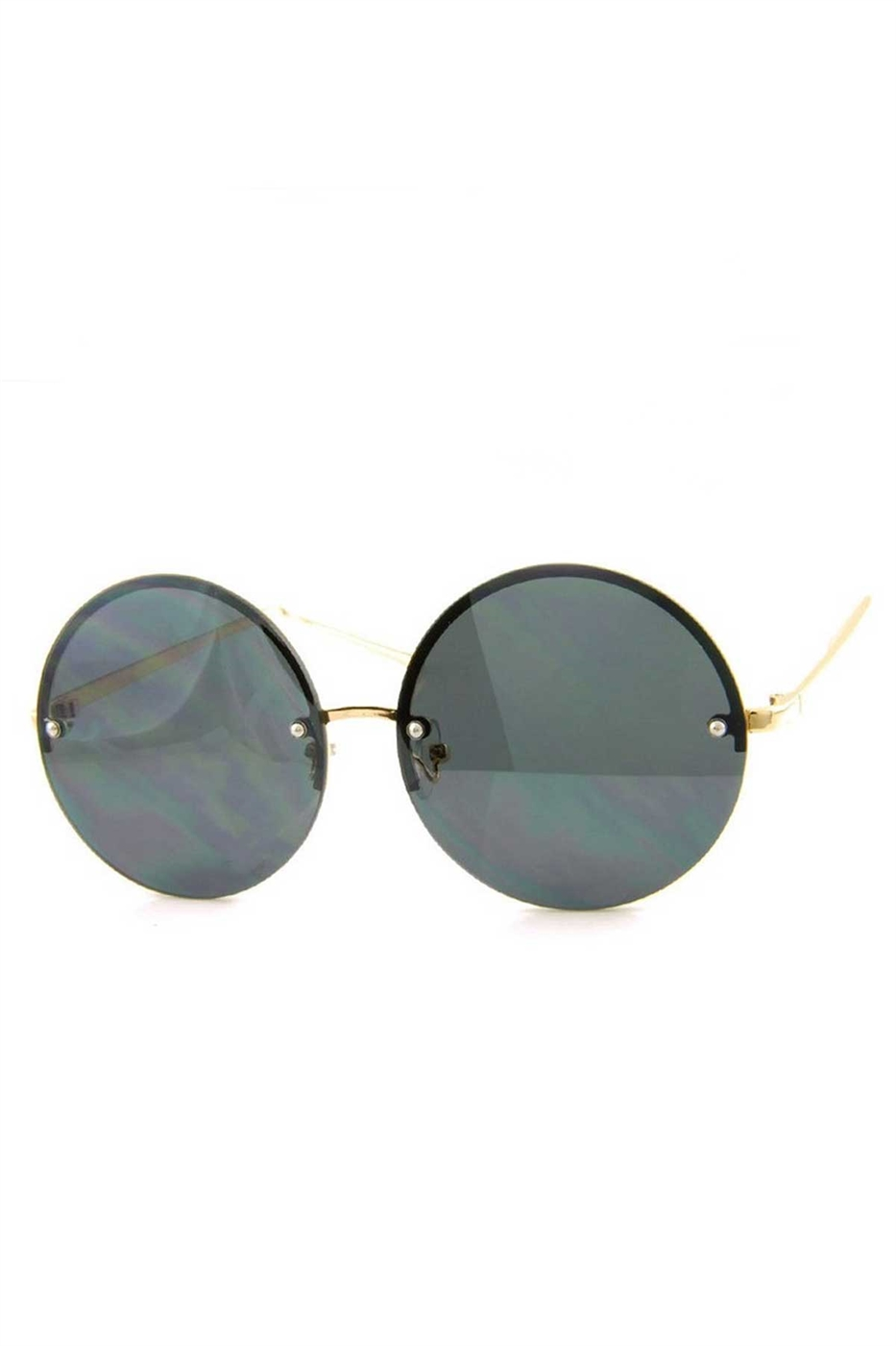 FASHION CIRCULAR SUNGLASSES - orangeshine.com