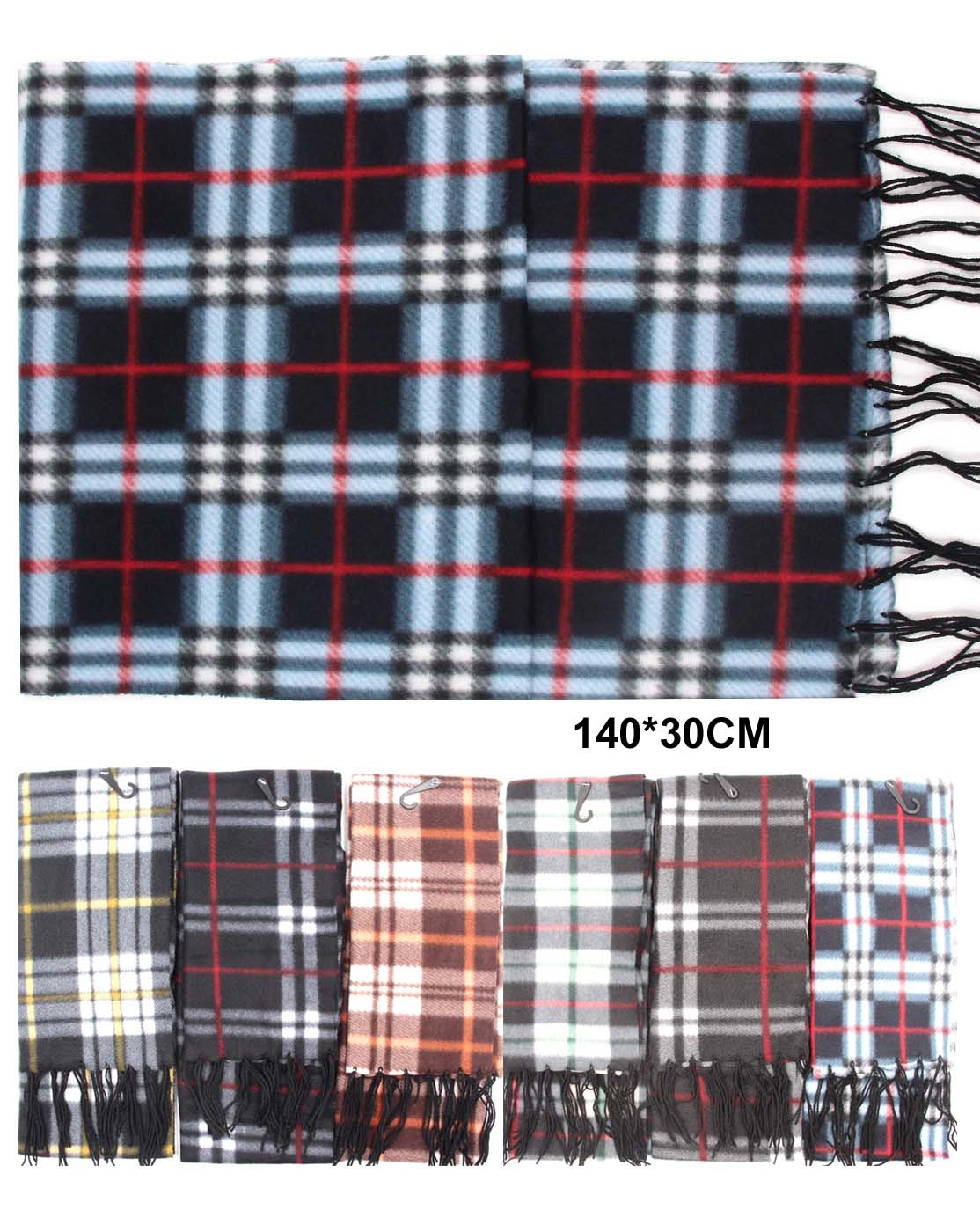 PLAID WINTER SCARF - orangeshine.com