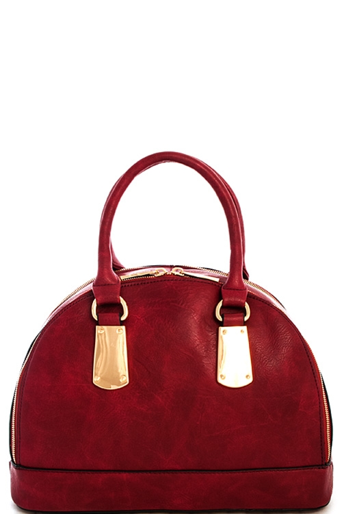 Semi Circle Domed Satchel - orangeshine.com