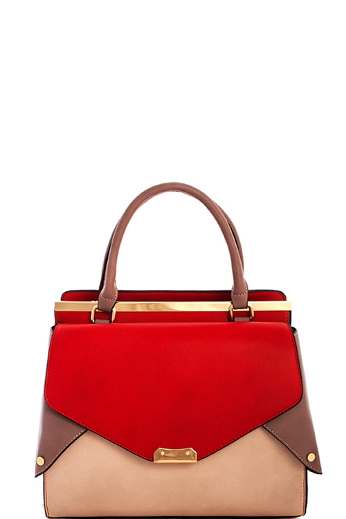 Designer Multi Color Satchel - orangeshine.com