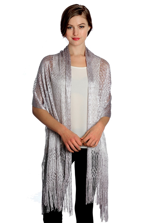 Metallic Party Shawl - orangeshine.com