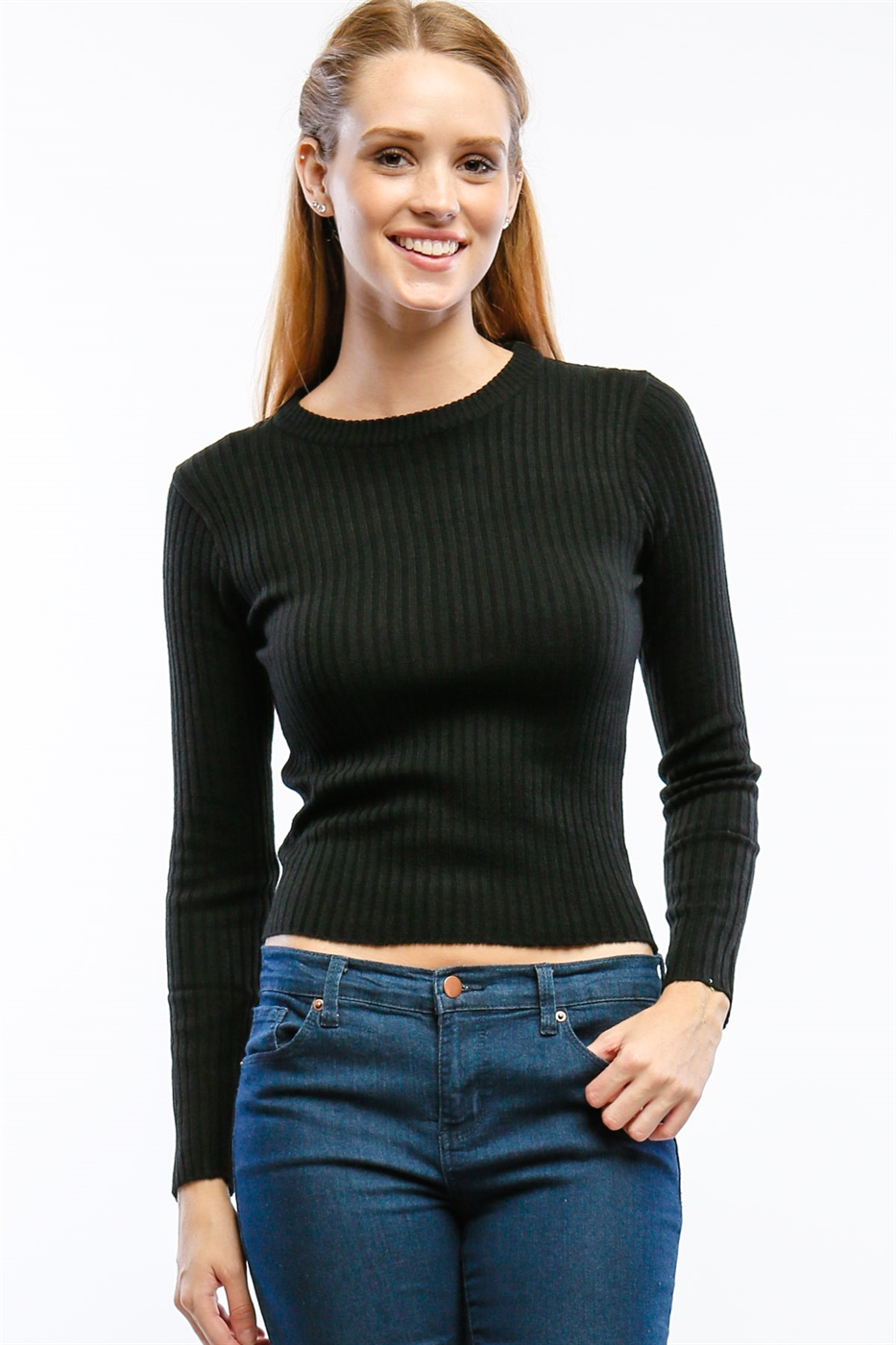 Long Sleeve Basic Tee - orangeshine.com