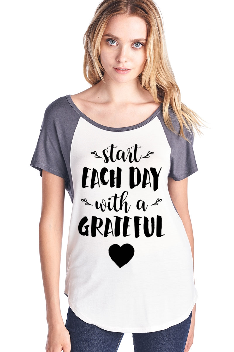 Grateful Baseball Top - orangeshine.com