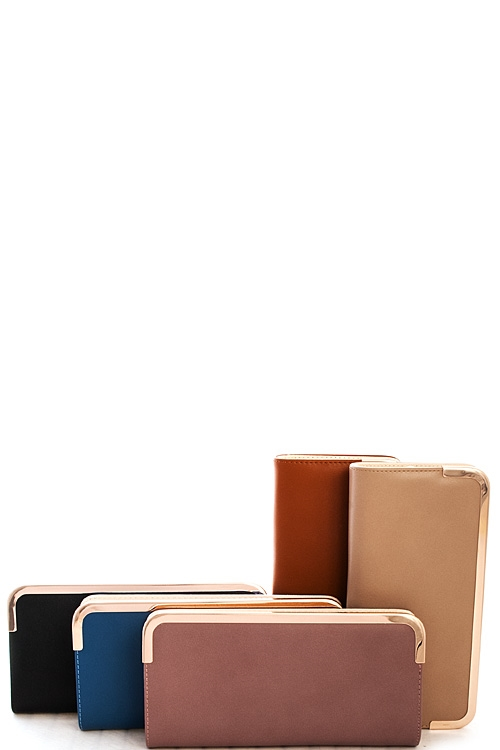 Fashion Trendy Long Wallet - orangeshine.com