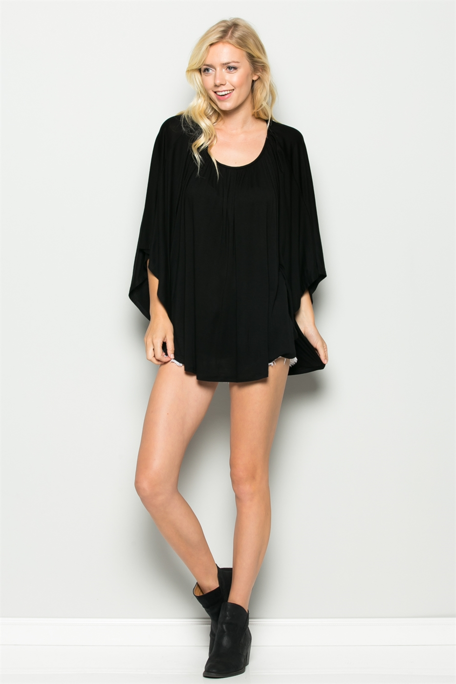 LOOSE FIT BATWING TOP - orangeshine.com