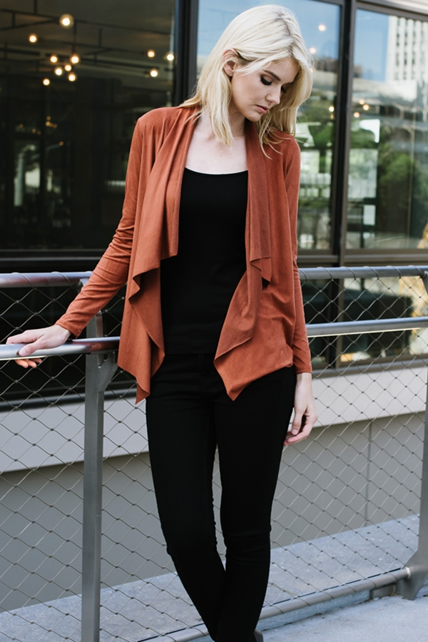 CARDIGAN LONG SLEEVE - orangeshine.com