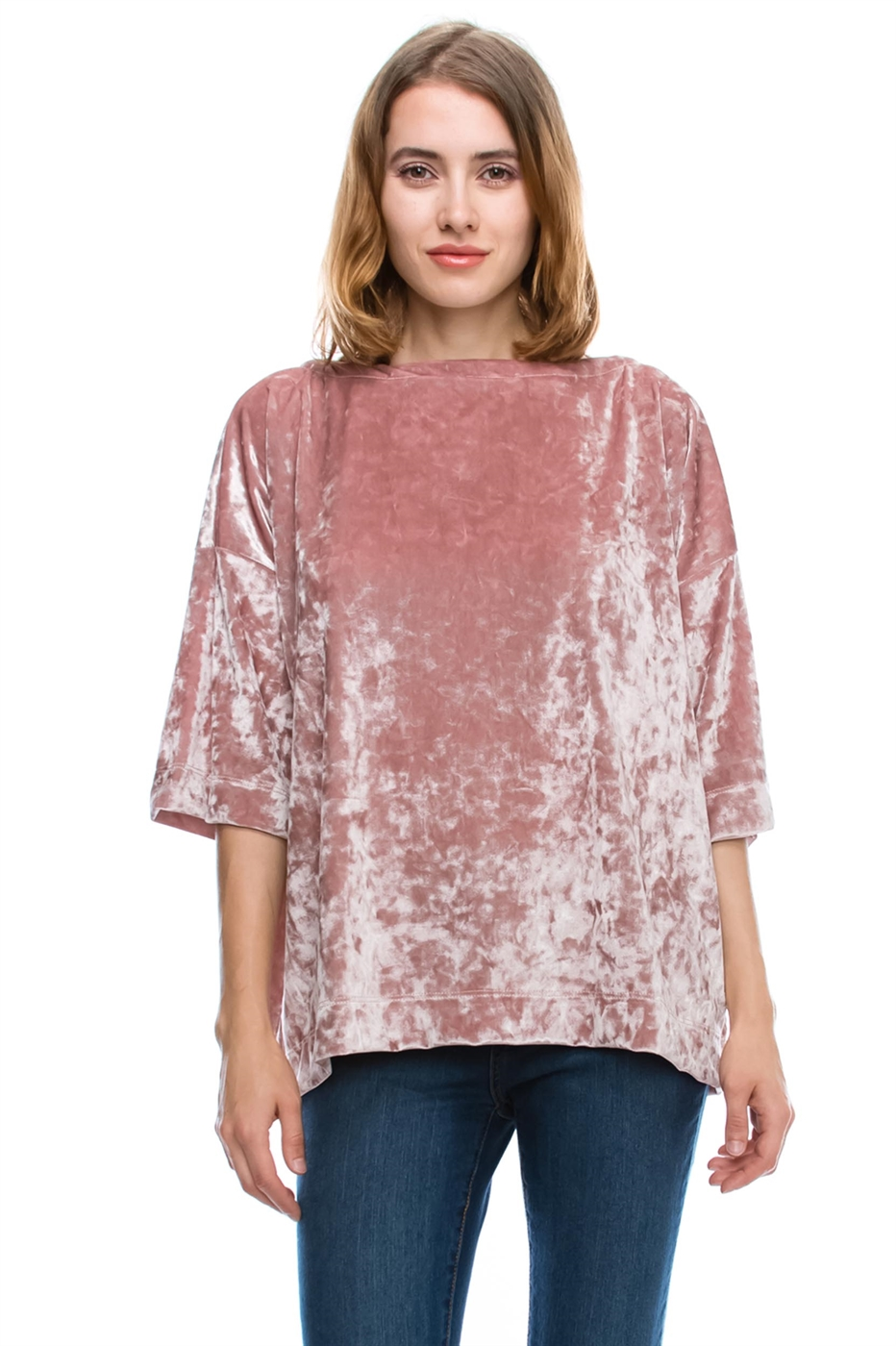 VELVET BASIC TOP - orangeshine.com