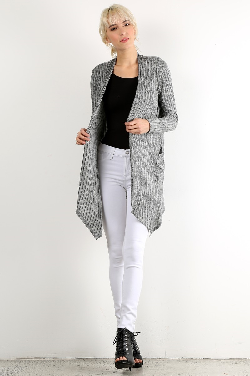 Solid Cardigan - orangeshine.com