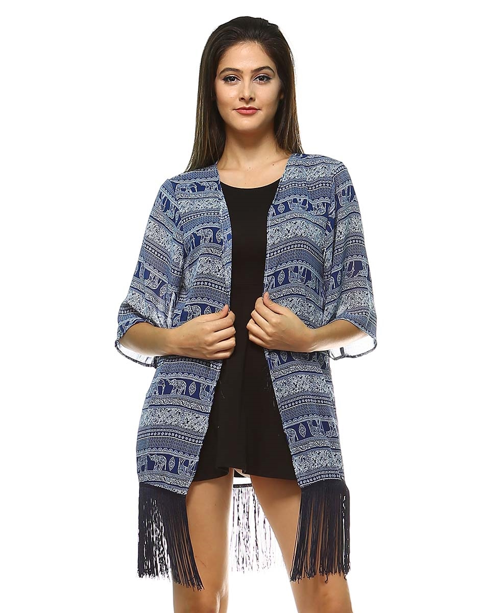 WOMANS CARDIGAN ELEPHANT - orangeshine.com