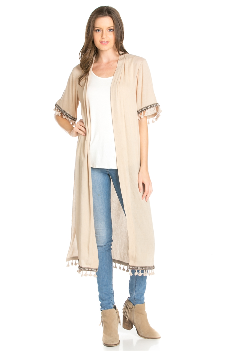 ELBOW SLEEVE CARDIGAN - orangeshine.com
