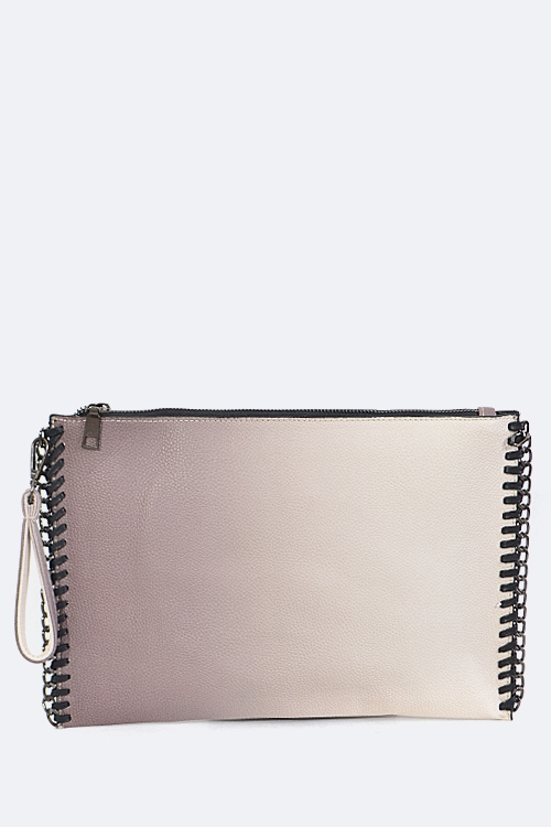 Laced Edge Convertible Clutch - orangeshine.com