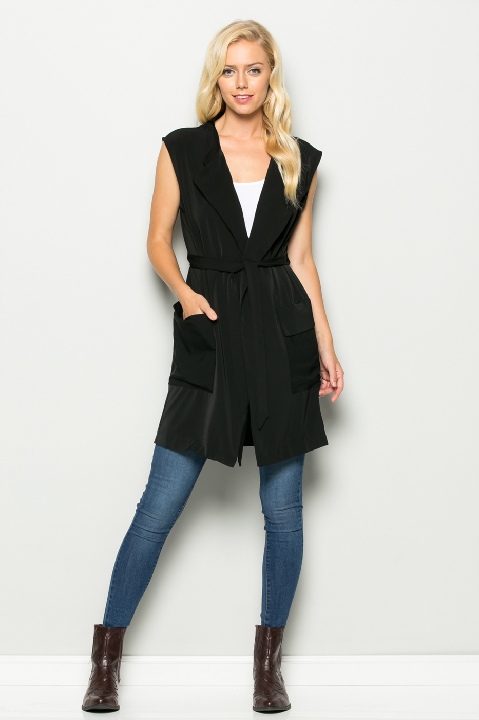 CHINA COLLAR VEST - orangeshine.com