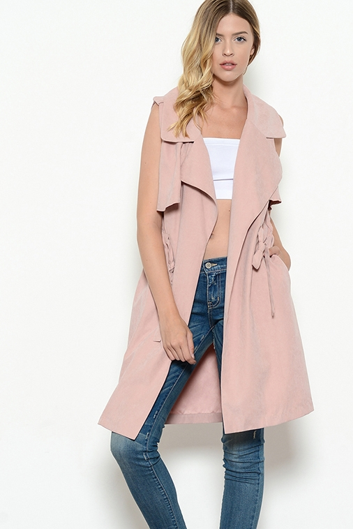 Trench Vest Jacket - orangeshine.com