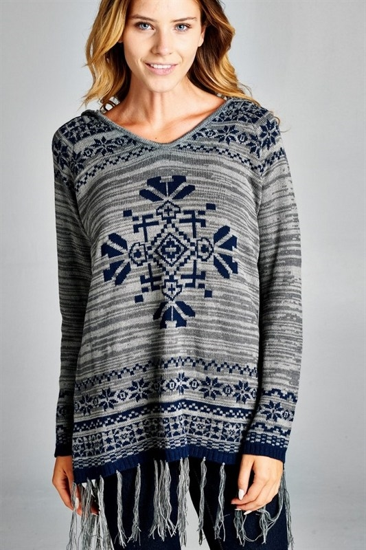 aztec sweater - orangeshine.com