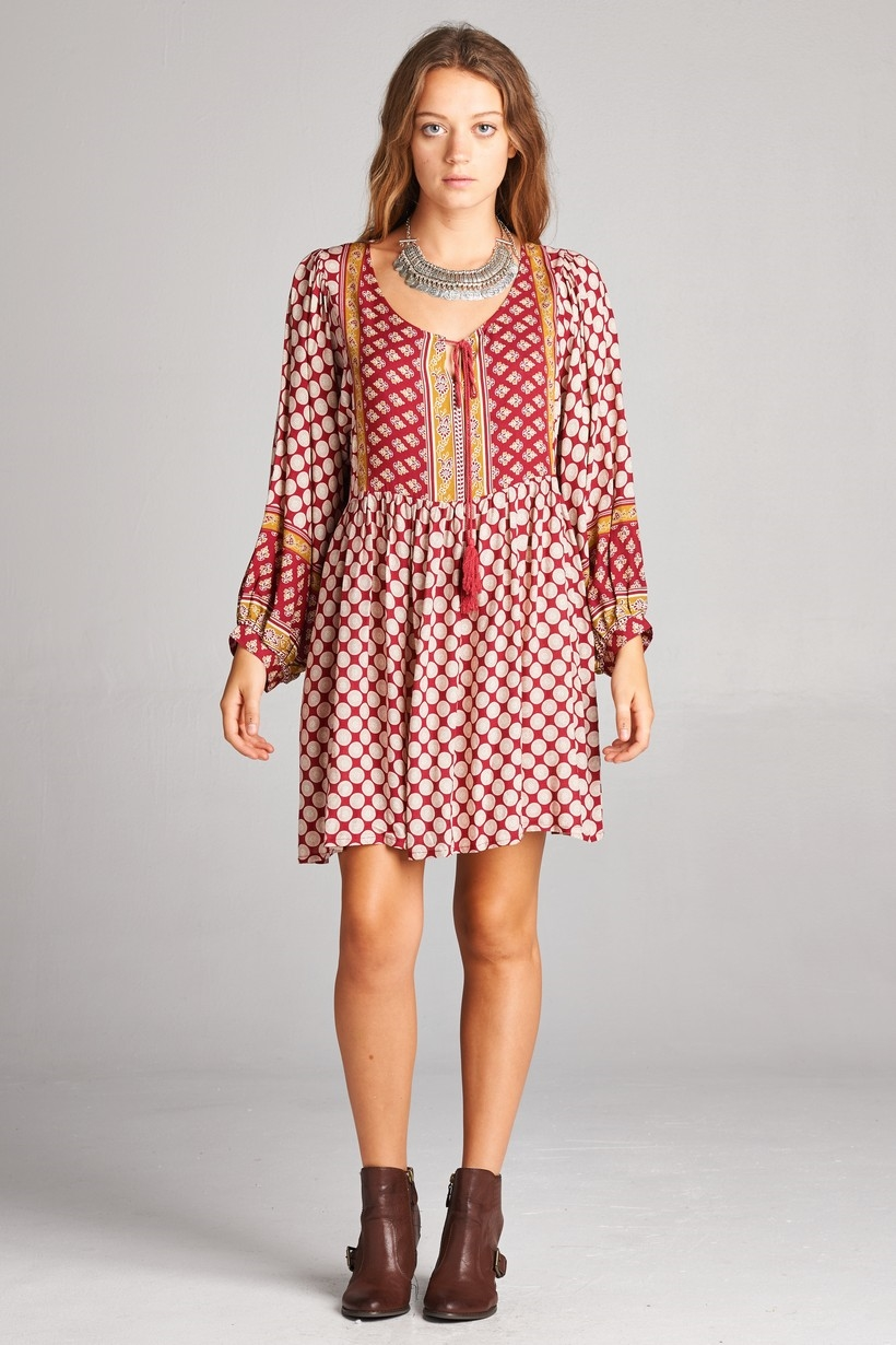 BOHO DRESS - orangeshine.com