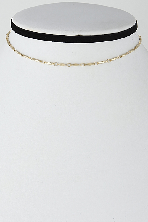 Day to Day Simple Choker - orangeshine.com