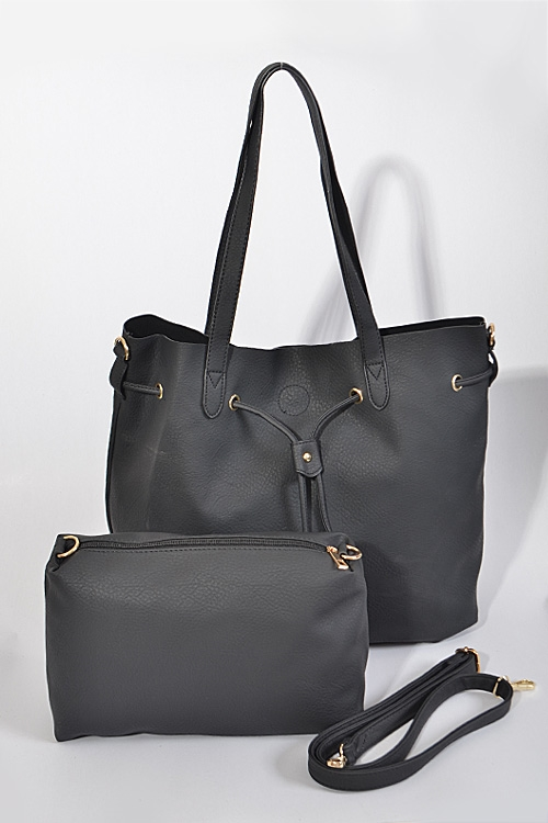 Plain Daily Handbag Set - orangeshine.com