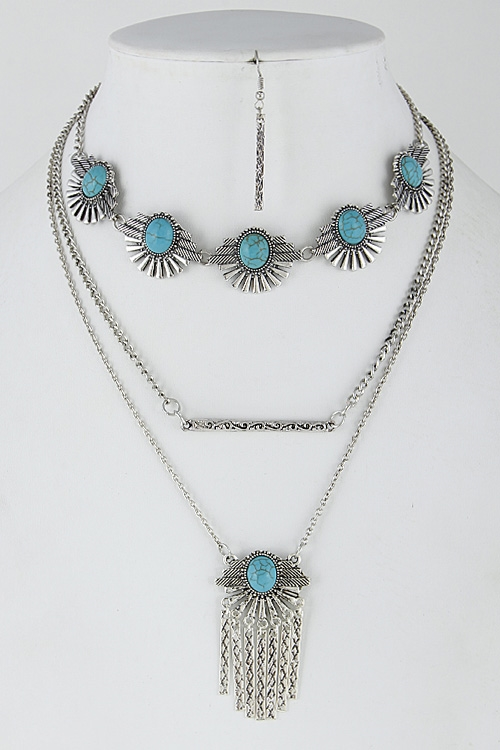 Multi Layer Necklace  - orangeshine.com