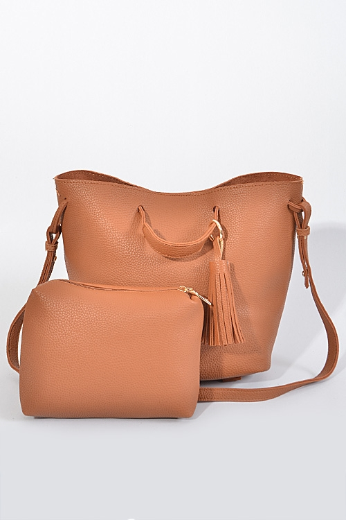 Unique Trendy Tassel Handbag - orangeshine.com