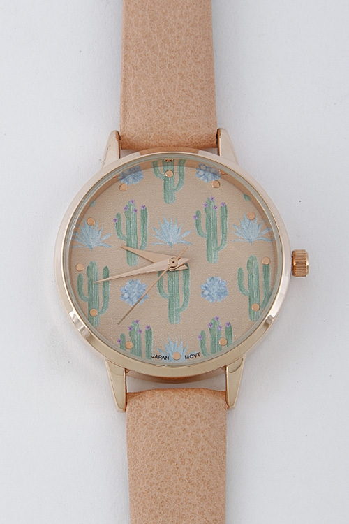 Cactus On A Daily Watch - orangeshine.com