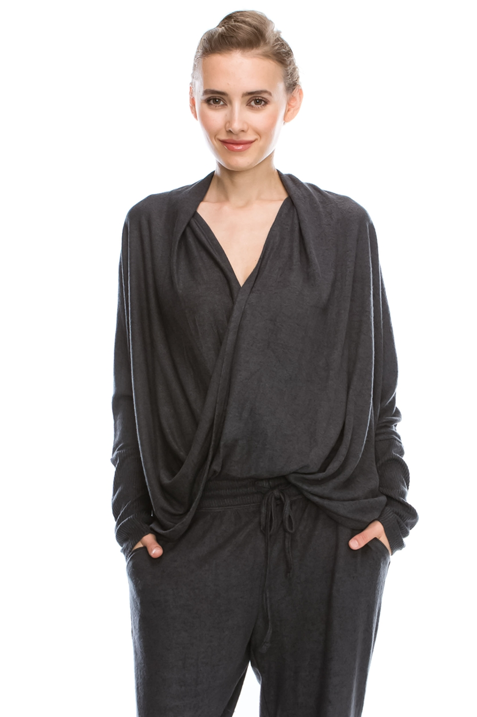 SURPLICE FRONT TOP - orangeshine.com