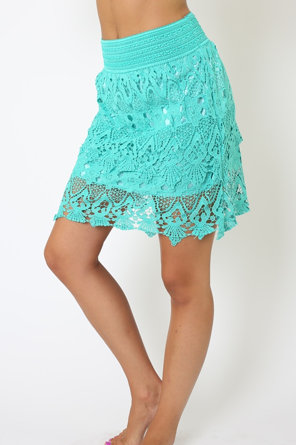 Lace Skirt - orangeshine.com