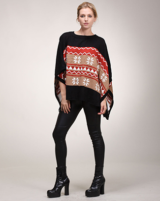 Winter Batwing Sweater - orangeshine.com