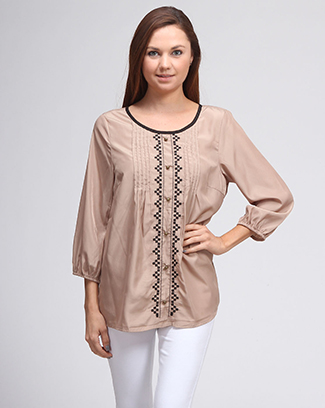 ETHNIC EMBROIDERY TOP - orangeshine.com