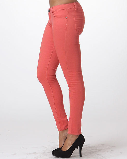 5 POCKET CLASSIC COTTON STRETCH JEAN - orangeshine.com