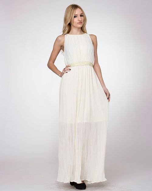 LONG CHIFFON DRESS - orangeshine.com