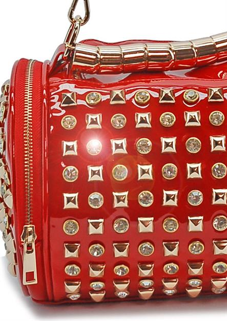 FANCY DIAMOND BARREL HANDBAGS - orangeshine.com