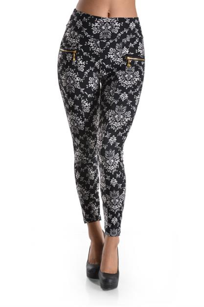 VISCOSE LEGGINGS - orangeshine.com