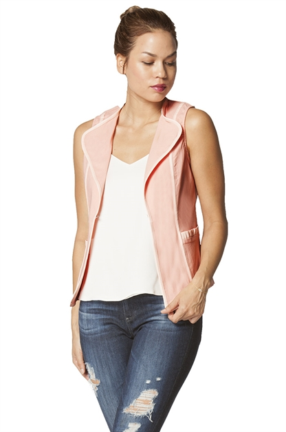 V-neck vest - orangeshine.com