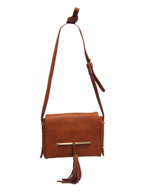Flap Tassels Cross Body - orangeshine.com
