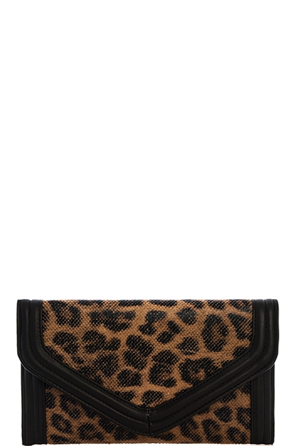 FASHION TRENDY LEOPARD CLUTCH - orangeshine.com