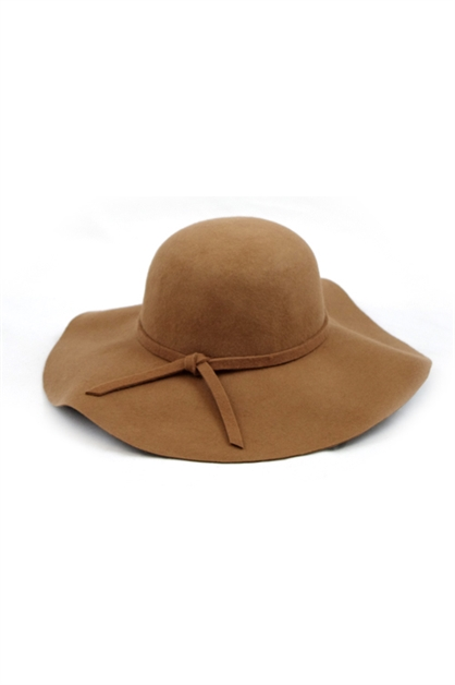 CHIC WOOL FELT FLOPPY HAT - orangeshine.com