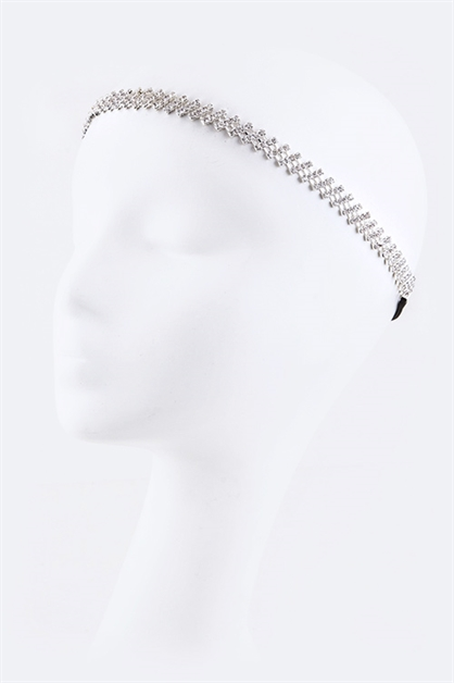 Crystal Stretch Headband - orangeshine.com