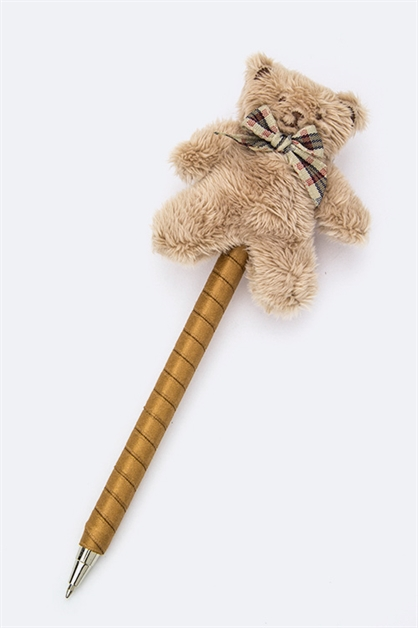 Teddy Bear Ballpoint Pen - orangeshine.com
