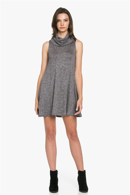 FIRENZE TURTLE SWINGY DRESS - orangeshine.com