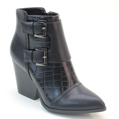 Ladies Cut-Out Booties - orangeshine.com