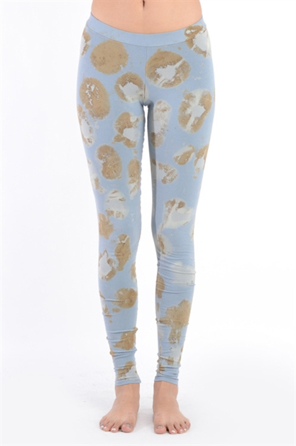 ANTIQUE STAIN DYE LEGGINGS - orangeshine.com
