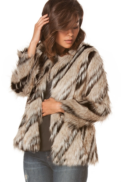 Fur Jacket - orangeshine.com