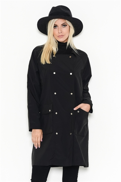 MIDI DOUBLE BUTTON JACKET - orangeshine.com