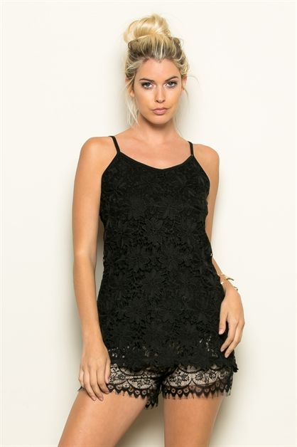 LACE OVER TUNIC - orangeshine.com