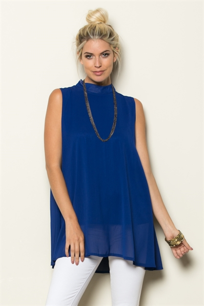 A-LINE TUNIC W/NECKLACE - orangeshine.com